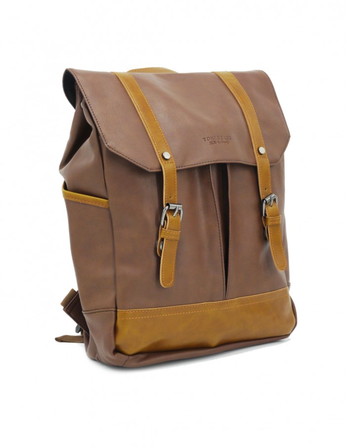 kasugai-brown-vegan-leather-backpack-7
